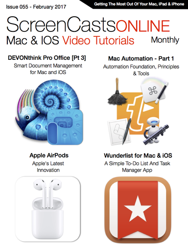 Free Video Tutorial: Wunderlist for Mac & iOS - Apple Mac, iPad