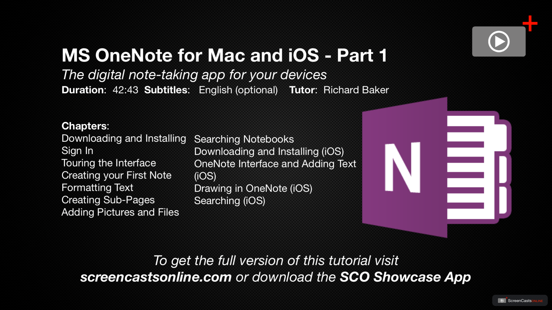 onenote on mac 2018